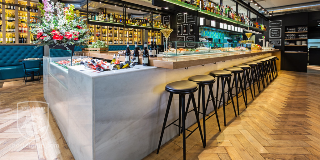 Restaurant Vinitus en Barcelona por Hostel Grup