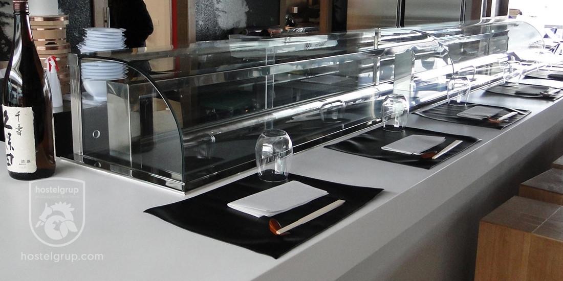 detalle-barra-del-restaurante-japones-aroma-kaori-badalona